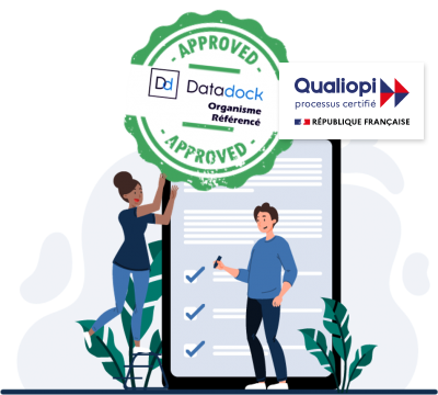 Items Média Concept, est référencé Datadock avec l'agrément n° 0030966, et à aussi obtenu la certification Qualiopi par Bureau Veritas